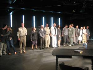 The Cast of Judas takes their Last Bow