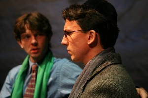 Karl Miller as PRIOR WALTER and Alexander Strain as LOUIS IRONSON